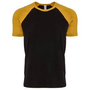 Next Level Unisex Contrast Cotton Raglan T-Shirt Thumbnail