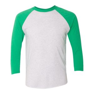 Next Level Unisex Tri-Blend 3/4 Sleeve Raglan T-Shirt Thumbnail