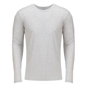 Next Level Unisex Long Sleeve Tri-Blend Crew T-Shirt Thumbnail