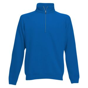 FOTL Mens Classic Zip Neck Sweat Thumbnail