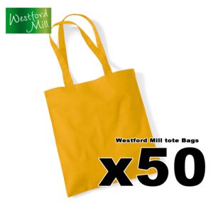 x50 Westford Mill Tote Bags / One Colour Print Deal Thumbnail
